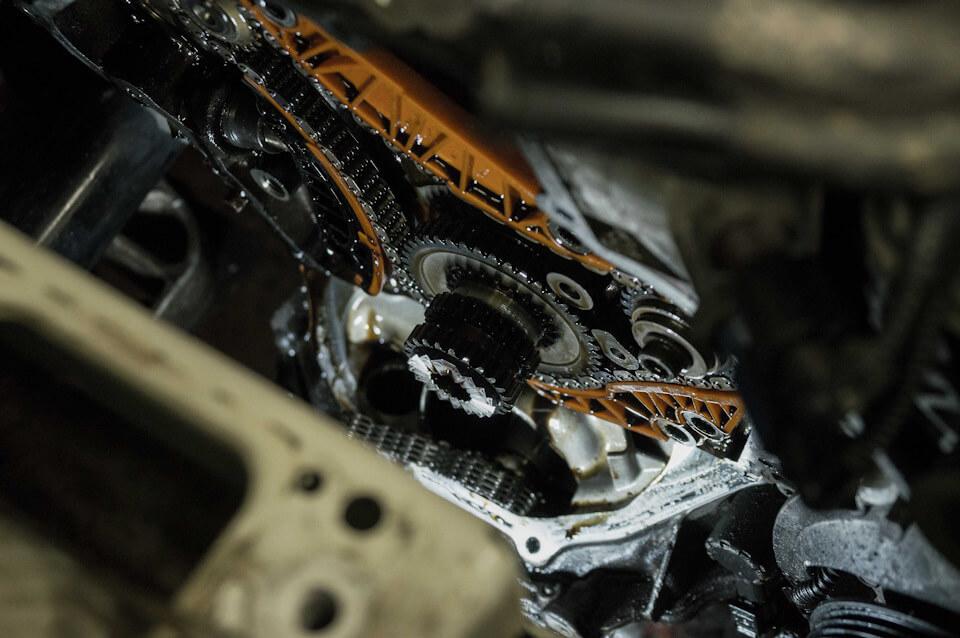 Замена цепи ГРМ Шкода Октавия А5 и А7 1.2, 1.4, 1.8, 2.0 TSI